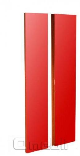 Комплект дверей UK-31 ДСП глянец красный  дуб молочный A10246