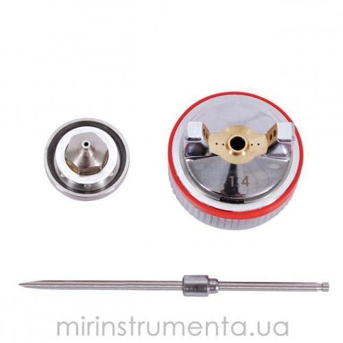 Комплект форсунок HVLP II INTERTOOL PT-2114