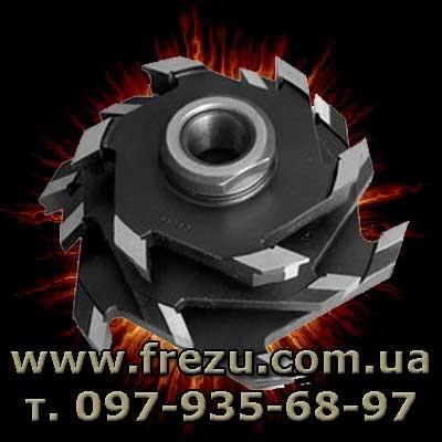 Комплект фрез для окон на универсальных фрезерных и четырехсторонних станках. www. frezu. com. ua
