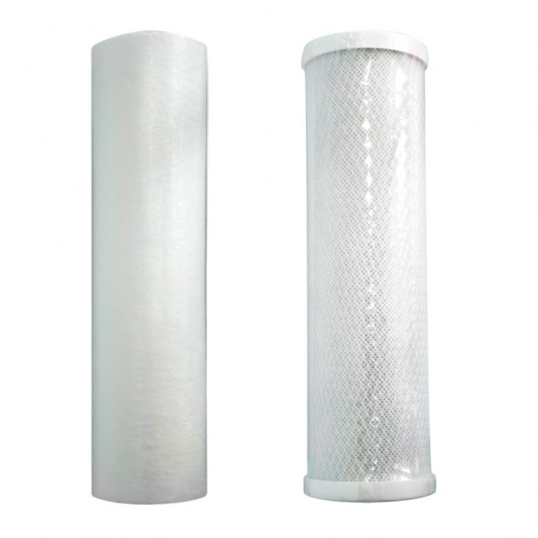 Комплект картриджей для двух-колбовых фильтров