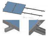 Фото  1 Комплект кріпленя для 2 шт. сонячних батарей 2000083