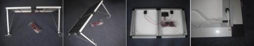 Комплект портативных солнечных панелей мощностью 40 Вт