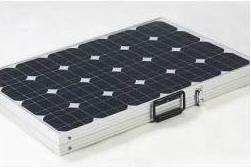 Комплект портативных солнечных панелей мощностью 80 Вт