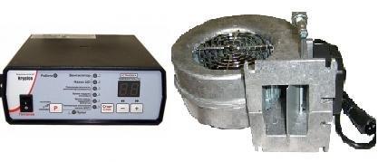Фото  1 Комплект Krypton (вентилятор и автоматика) для твердотопливных котлов 1745456
