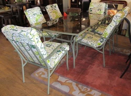 Комплект Сирень (стол и 6 кресел).