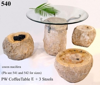 Комплект: стол и 3 стула STS540. Производство: Индонезия.