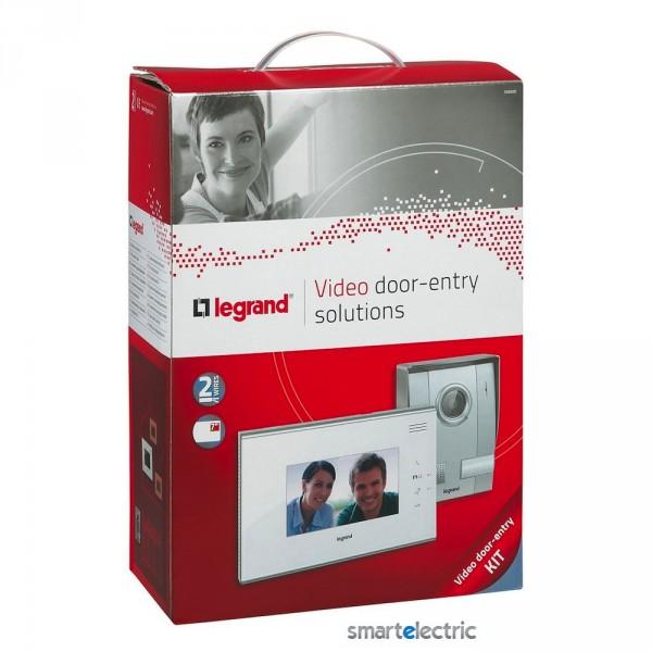 Комплект видеодомофона 7 цветной дисплей белый