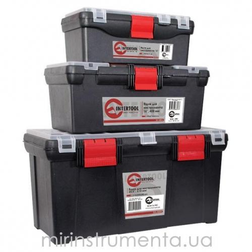 Комплект ящиков для инструмента INTERTOOL BX-0003