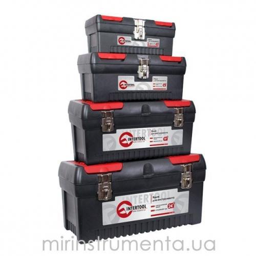 Комплект ящиков для инструмента INTERTOOL BX-0004