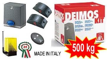 Комплекты автоматики для откатных ворот BFT DEIMOS-500700 (Италия).