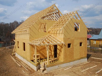 Комплекты домов для самостоятельной сборки из сип панелей (sip панелей).