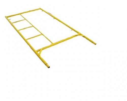 Комплектующие к лесам рамного типа облегченных-стойка с лестницей