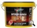 Kompozit®. Лак акриловый интерьерный INTERIOR глянцевый. Защищает древесину от загрязнения и попадания влаги.