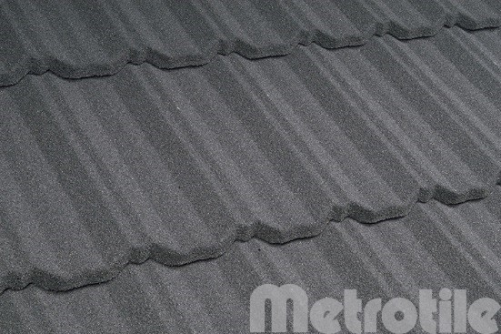 Композитная металлочерепица Metroclassic Charcoal 1330x410 мм
