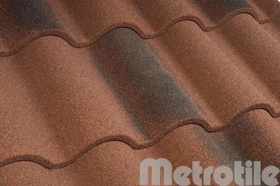 Композитная металлочерепица Metroromana Victorian 1165x415 мм