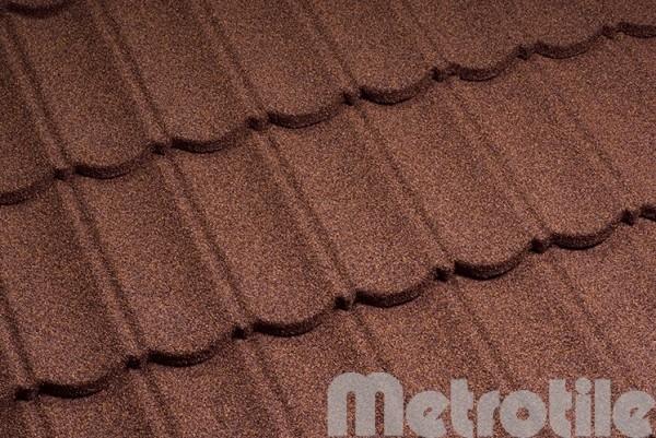 Композитная металлочерепица Metrotile Bourgogne 1330x410 мм