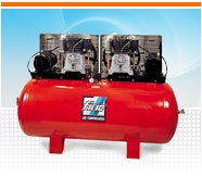 Компрессора FIAC с производительностью на выходе от 180 л/мин до 1720 л/мин