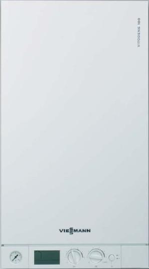 Конденсационный газовый котел Viessmann Vitodens 100-W 2-х контурный 35 kW