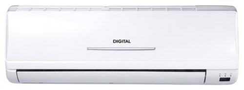 Кондиционер DIGITAL (серия H, завод GREE) Digital DAC-07H3 Турбо-режим (охлаждение обогрев)