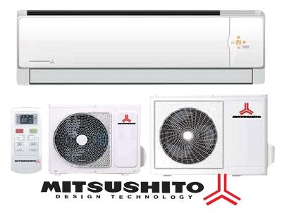 кондиционеры MITSUSHITO:бытовые и полупромышленные. Электрические обогреватели конвекторного типа.