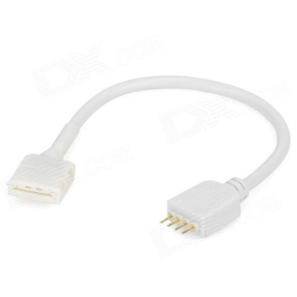 """Конектор RGB """"клипса-мама&qu ot; с проводом для соединения LED ленты 10мм (SMD 5050)"""