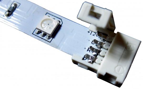 Коннектор без влагозащиты для ленты 10мм, 4pin, SMD5050