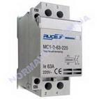 Контактор модульный RUCELF MC1-2-63-220
