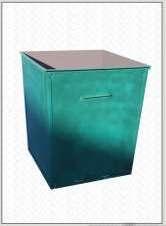Контейнер для мусора 0,75 м. куб. сталь 1,5 мм