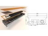 Конвектор принудительной конвекции с 1-им теплообменником КV. D. PREMIUM.300.2750.125