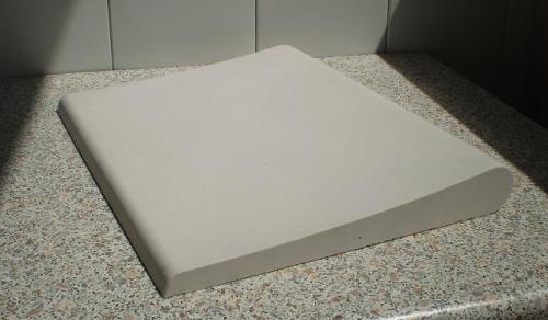 Копинговый камень (бортовой) серии Bello - белый