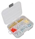 Коробка 3-11 ячеек 7001 Коробка на 3-11 ячеек, 8 съемных перегородок Размер:L x B x H :160x130x35 вес : 0.11 кг