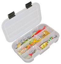 Коробка 3-13 ячеек 7002 Коробка на 3-13 ячеек, 10 съемных перегородок Размер:L x B x H :210x130x35 вес : 0.15 кг