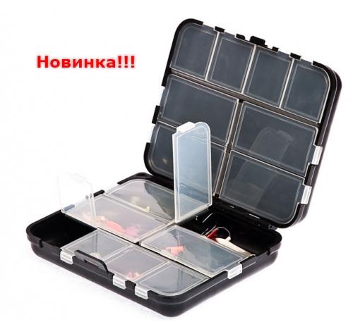 Коробка двойная 16 ячеек 2416 Коробка двойная 16 ячеек L x B x H : 120 x 100 x 35 вес : 0.11 кг