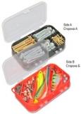 Коробка двухсторонняя 10 ячеек 2510 Коробка двухсторонняя 10 ячеек Размер: * L x B x H : 150 X 100 X 43 * вес : 0.08 кг