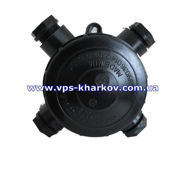 Коробки ответвительные КОП 416-6-01-65 У1,5 УХЛ4(У-409) для стационарной установки в пожароопасных зонах