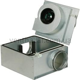 Корпусный вентилятор для круглых воздуховодов Systemair KVO 125