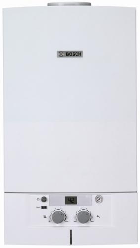 Котел Bosch обеспечивает надежное отопление дома и горячую воду для Вас.