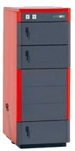 Котел на твердом топливе Н635 - 35 кВт ( дрова, уголь, брикеты), трёхходовой теплообменник, система защиты от перегрева