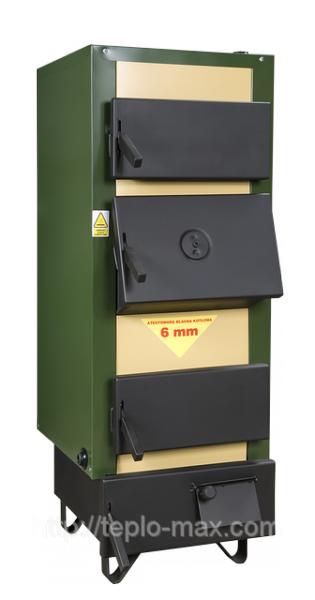 Котел на твердом топливе в Донецке DREW-MET серии MJ-1, 14 кВт (дрова, уголь)