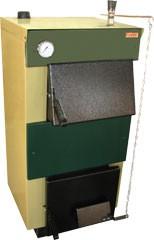 Котел отопительный твердотопливный «ТИВЕР-КТ-20» рассчитан на отопление помещения площадью до 200м.