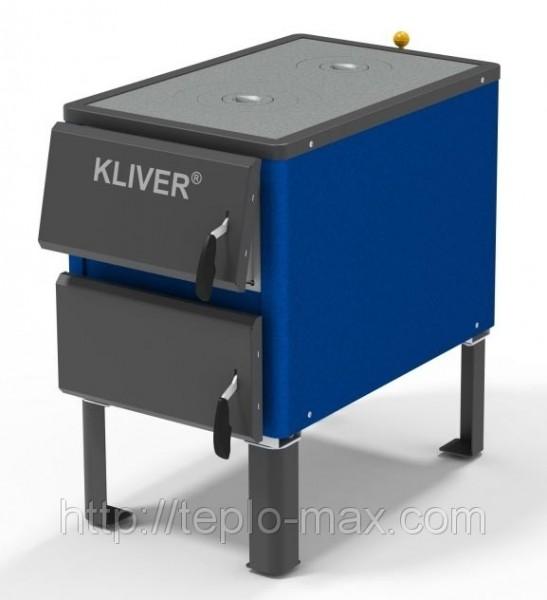 Котел твердотопливный KLIVER (Кливер) 17П (плита) Донецк Доставка по Украине