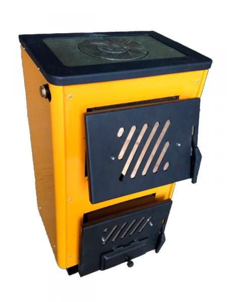 Котел твердотопливный КОТВ-10П Огонек предназначен для отопления зданий и жилых домов площадью до 100 кв. м.
