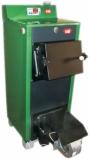 Котел твердотопливный КОТВ 20Т - турбонаддув (вентилятор, пульт управления, дверцы на винтах). Доставка по Украине.