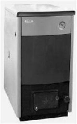 Котел твердотопливный со стальным теплообменником КОТВ-32-С Тепловая мощность 32 кВт (уголь)