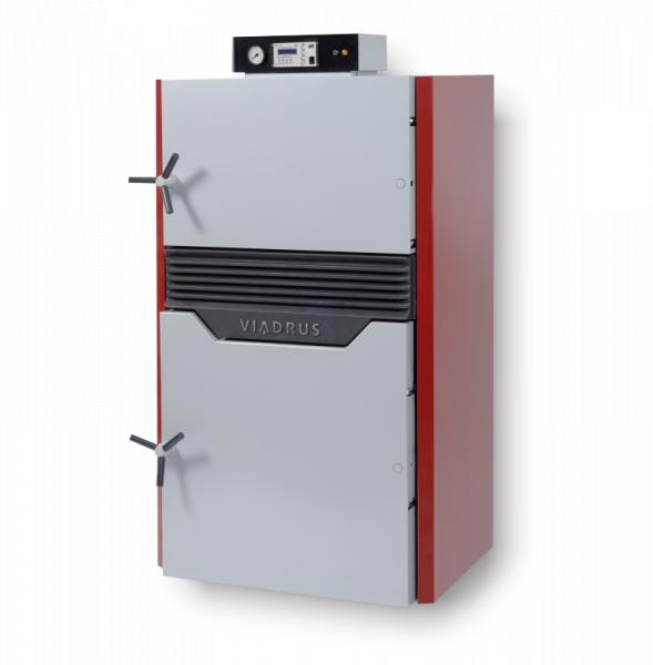 Котел Viadrus HEFAISTOS P/E, газогенераторный, на твёрдое топливо(дерево)7 секции,100кВт.