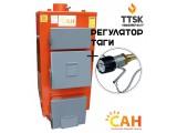 Котлы дровяные с механической энергонезависимой автоматикой САН Эко (М) мощностью 17 квт