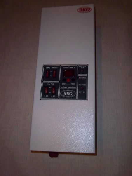Котлы электрические ЭКО настенные. Мощности 4,5,6,9,12,15,18,24, 30 кВт.