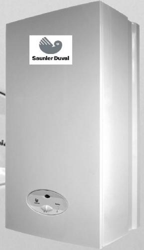 Котлы газовые Saunier Duval (Франция) от 24 кВт.