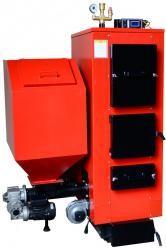 Котлы отопления на твердом топливе КТ-2E-SH предназначены для отопления жилых домов