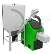 Котли Pellets 100, що автоматично запалюють паливо, потужністю 16 кВт.